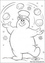 frosty snowman coloring pages coloring book coloring