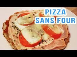 cuisine rapide sans four mdfit pizza sans four à la poêle recette