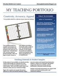 teaching portfolio great examples career corner resumes
