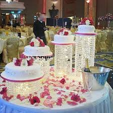 wedding cake display 4pcs lot cake stand centerpiece wedding cake display