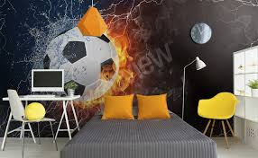murals football to size of wall myloview com go to the product football wall mural for kids