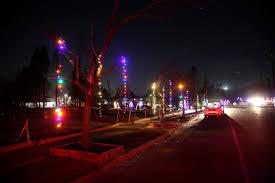 santa rosa christmas lights as california burns holiday spirit brightens fire ravaged neighborhood