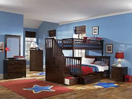 Columbia Full Over Full Bunk Bed by Amazon Com Columbia Staircase Bunk Bed With 2 Raised Panel Bed