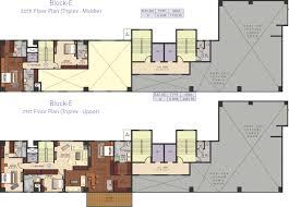 Triplex Floor Plans Ideal Exotica In Alipore Kolkata Price Location Map Floor