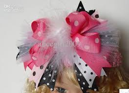 wholesale baby grosgrain ribbon bows hair bows boutique bows