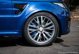 range rover rims 2017 2016 range rover sport svr review video performancedrive