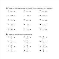 percents worksheet 13 download free documents in pdf word