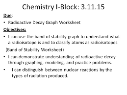 nuclear chemistry nuclear chemistry objectives students will be