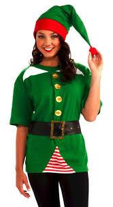 Adults Unisex Holiday Elf Costume Kit  Santas Workshop Party
