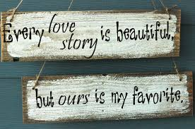 rustic wedding sayings every story rustic wedding sign by allmygoodness on etsy