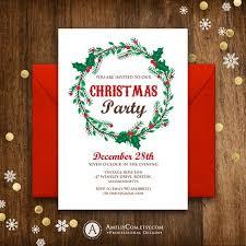 best 25 christmas party invitation template ideas on pinterest