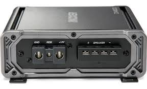 kicker 43cxa600 1 mono subwoofer amplifier u2014 600 watts rms x 1 at