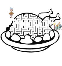 thanksgiving mazes u0026 word games maze motor skills