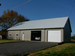 Gambrel Pole Barn by Custom Built Pole Barns Deep South Buildings
