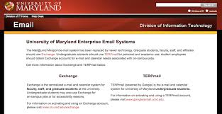 university of maryland help desk gatech email email services pinterest