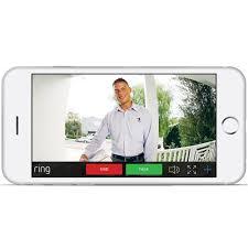 ring night vision ir 720p wifi doorbell security camera bronze