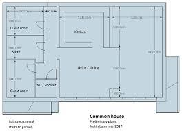 common house floor plans design chapeltown cohousing