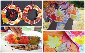 fall leaf crafts for to make crafty morning