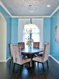 Teal Dining Room Amusing 70 Painted Wood Dining Room Interior Decorating
