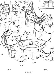 fox pictures franklin coloring pages hellokids