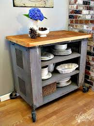 rustic kitchen islands and carts rustic diy kitchen island ideas