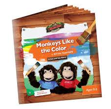 monkeys color monkisee