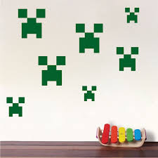 Minecraft Bedroom Decals by 17 Best Minecraft Bedroom Wall Decor Images On Pinterest