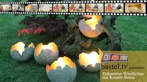 windlichter mit beton für kreative von viva decor youtube