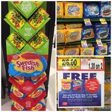 where to buy swedish fish oreo promo buy 2 get free candy the harris teeter deals