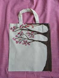 painted canvas tote bags 8 00 the pink turnip