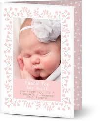 baby thank you cards baby thank you cards your photos and text optimalprint