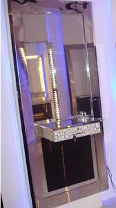 salon mirrors with lights hair salon mirror station light up salon mirror station m222a view