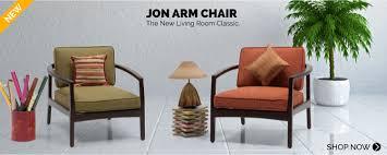 urban ladder new the classic jon arm chairs the stylish