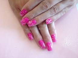eye candy nails u0026 training acrylic nails with pink gel and