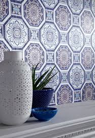 detail of brasilia wallpaper part of tropics collection by
