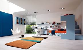 Modern Color Scheme by Blue Kids Rooms Total Pictures Modern Room Design With Color
