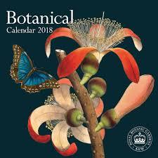 botanical calendars royal botanical gardens kew slim calendar 2018 calendar club uk