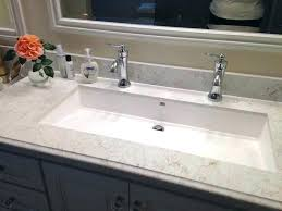 trough sink two faucets small trough sink muveapp co