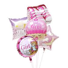 balloons delivered nyc baby girl balloons flower and balloon delivery nyc florist
