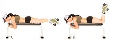 Leg Raise On Bench Workouts For Women Lift Exercises Glute Exercises