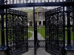 sale ornamental modern cast iron gate china sale