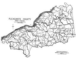 Northern Virginia County Map by West Virginia County Map