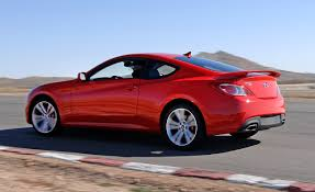 mitsubishi coupe 2000 2010 hyundai genesis coupe 2 0t turbo u2013 instrumented test u2013 car