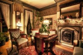 wallpaper hdri antique room interior fireplace chairs design