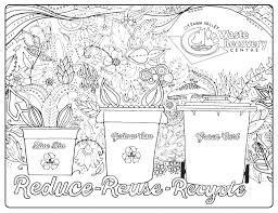 kids colouring pages u2013 ottawa valley waste recovery centre ovwrc