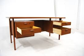 Small Teak Desk Kristiansen Teak Desk For Fm