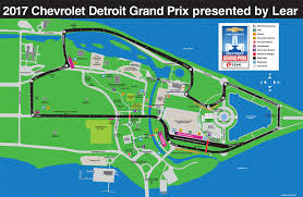 Mid Ohio Track Map by Chevrolet Detroit Grand Prix Presented By Lear June 1 3 2018