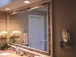 bathroom mirror frame ideas bathroom mirror ideas houzz in assorted tile bathroom mirror frame