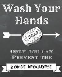 Printable Halloween Signs by Dorothy Sue And Millie B U0027s Too Free Zombie Apocolypse Chalkboard