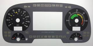 mercedes dashboard clock mercedes actros kmh to mph speedo meter clocks dials